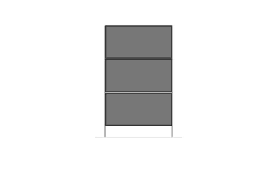 Kommode offen | 700 x 1170mm