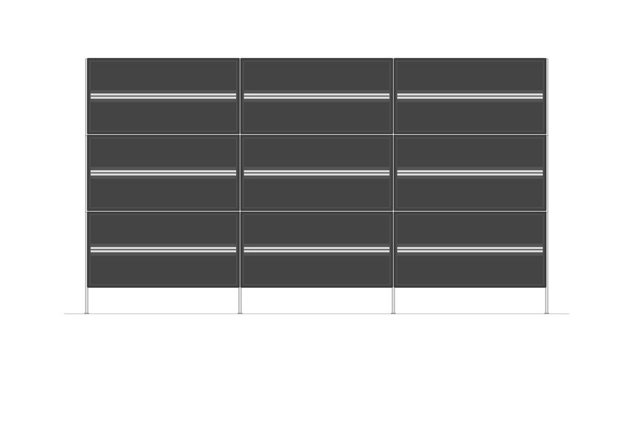 Sideboard mit Schubalden | 2100 x 1170mm