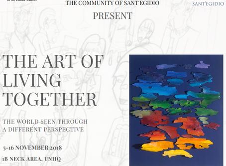 L'arte degli amici vola a New York per la mostra dell'ONU