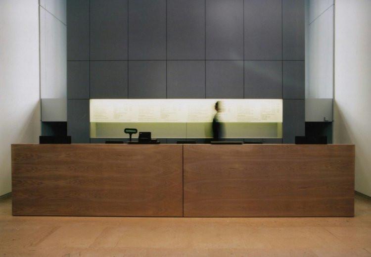 Architecture accueil du musée magritte