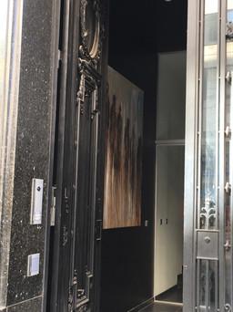 Exhibition comptoir royal passants noiir