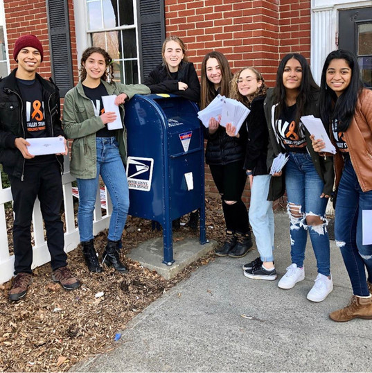 HVSU Members Sending Letters to Mitch McConnell