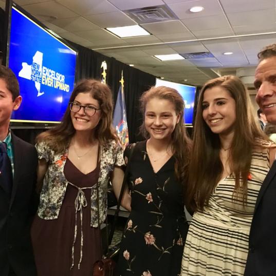 HVSU members meet NYS Governor Andrew Cuomo