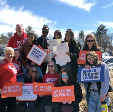 Protest at March For Our Lives: One Year