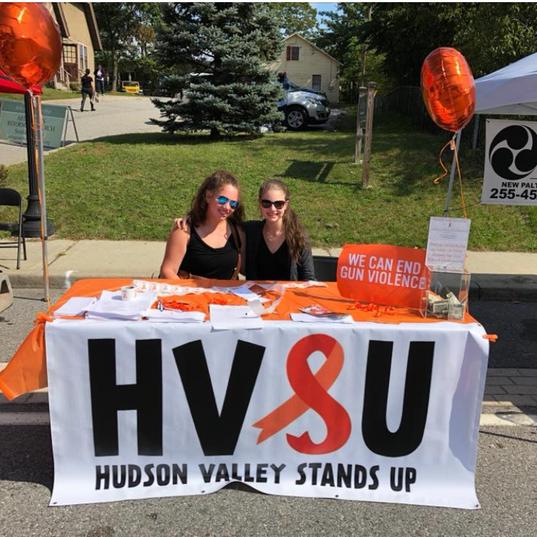 HVSU members at the Arlington Street Fair