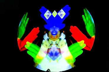 Fête foraine numérique, Le Proyectarium, Portrait en mouvement