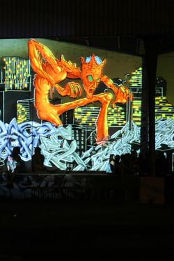 Graffiti Numérique - Le Proyectarium