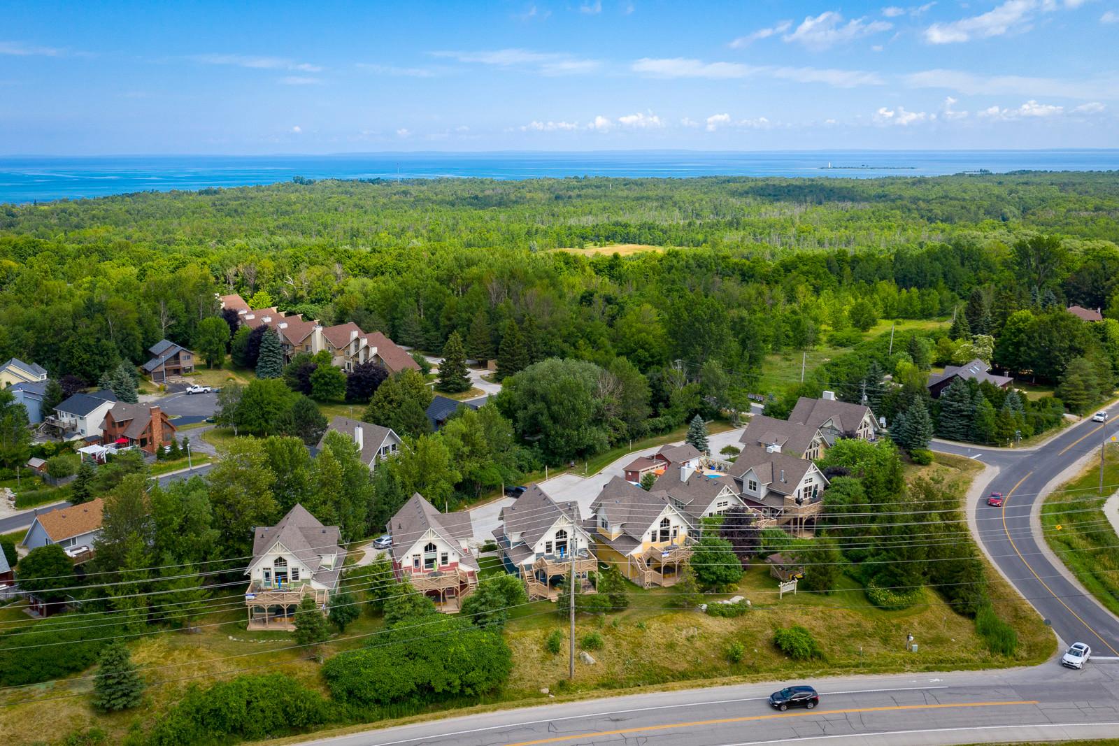 Blue View Chalets 104 Brooker Aerial 1.j