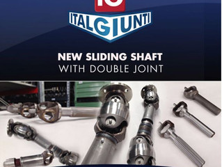 New Sliding Shaft with double Joint