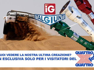 Are u ready?? Eccoci ad una settimana dal 17° 4X4Fest Carrara
