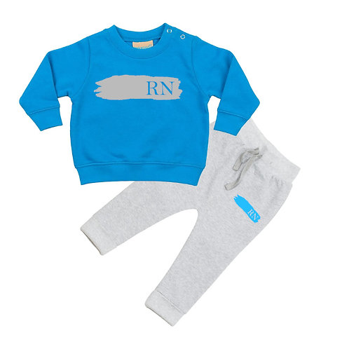 Toddler Boys Initials Tracksuit
