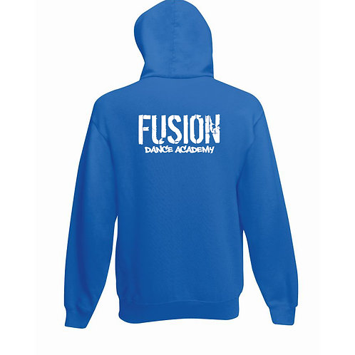 Adult's Fusion Royal Blue Pull Over Hoodie