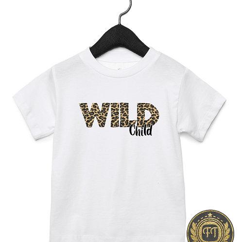 Wild child - Crew Neck T-Shirt