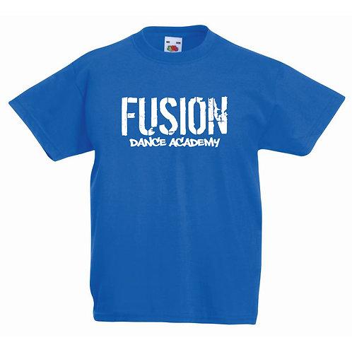 Adults Fusion Royal Blue T-shirt