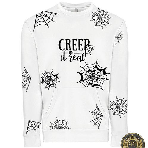 Exclusive Crew Neck Pocket Sweats - CREEP it real T-shirt