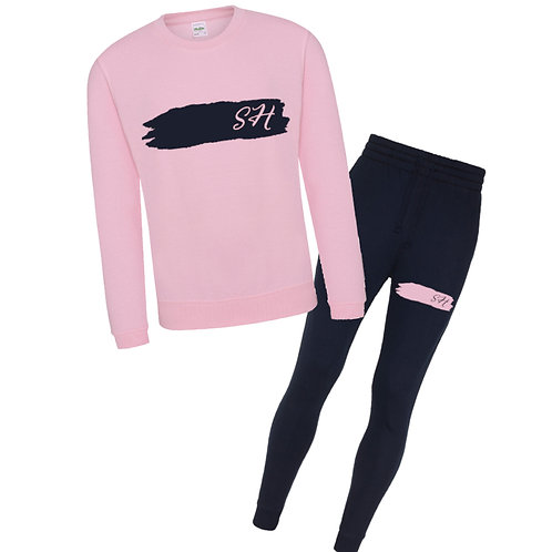 Girls Initials Tracksuit