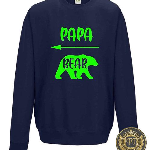 Papa Bear - Family Twinning Sweater