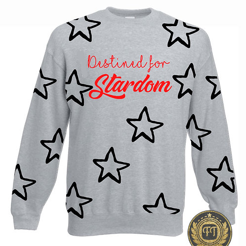 Destined for stardom - Drop Shoulder Sweater