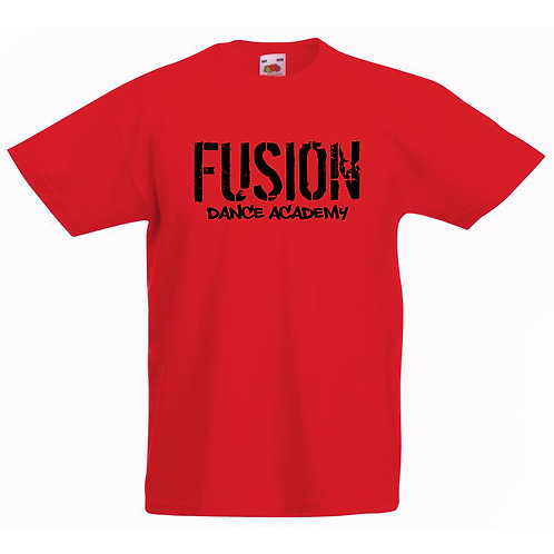 Adults Fusion Red T-shirt