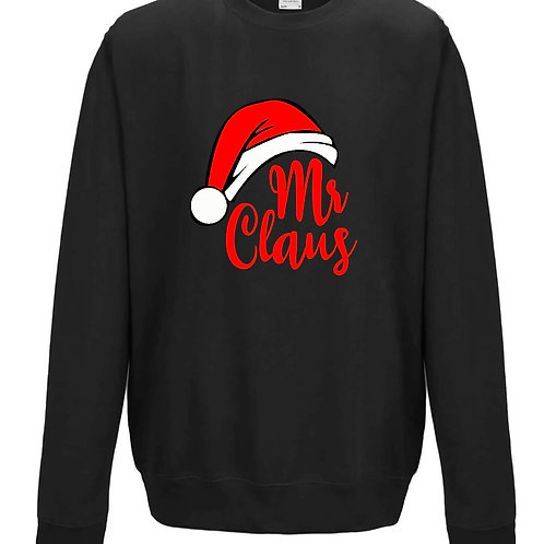 Mr Claus - Men's Couples Matching Sweater