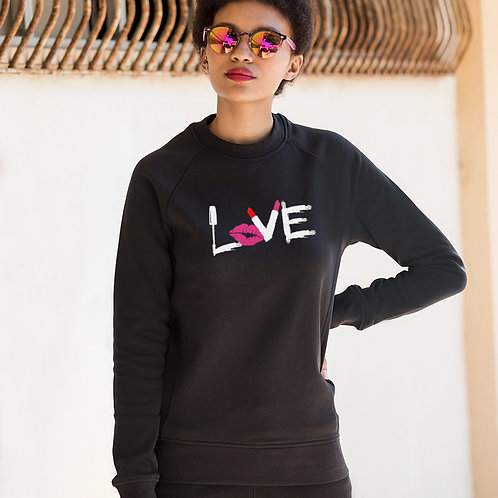 Love Make Up Slim Fit Sweatshirt