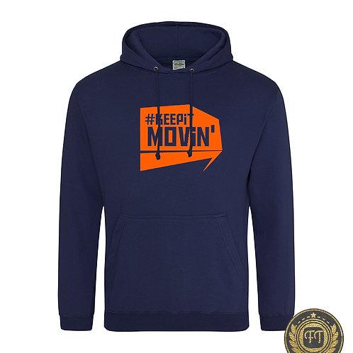 #Keepitmovin' -  College Hoodie