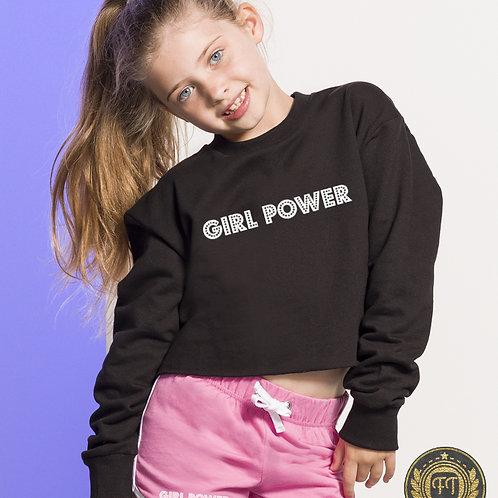 Mix'n'Match Cropped Slounge Sweatshirt & Retro Shorts Sets