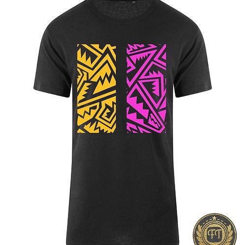Aztec - Longline T-Shirt