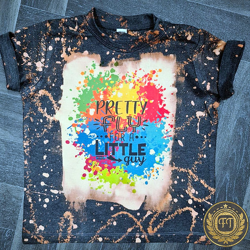 Pretty Fly For A Little Guy- Distressed T-Shirt