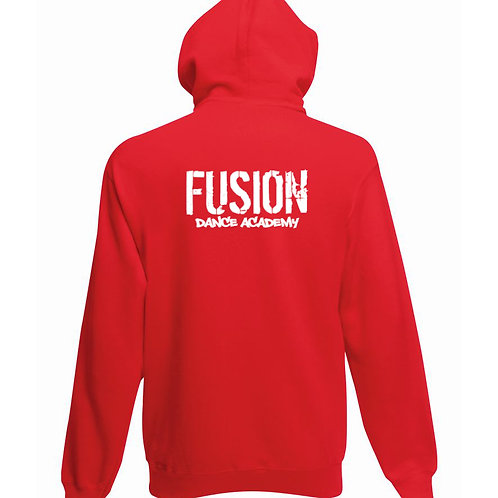 Child's Fusion Red Pull Over Hoodie