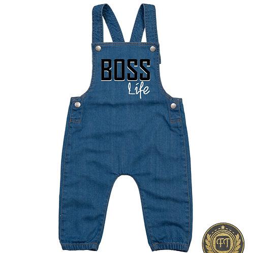 Boss life - Denim Dungarees