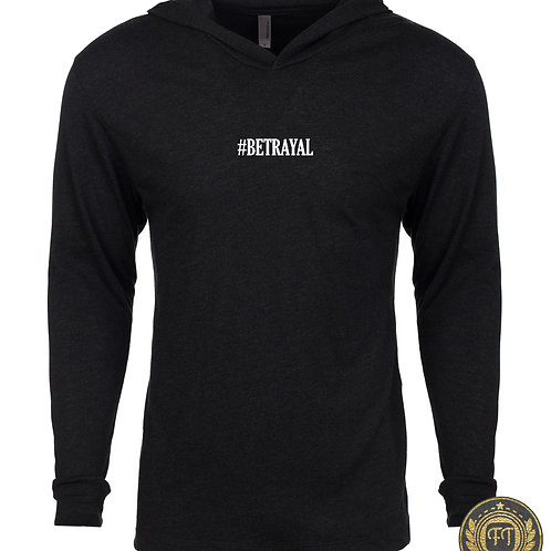 #BETRAYAL - Tri-Blend Long Sleeve T-Shirt Hoodie