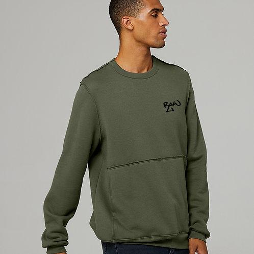 Men's Raw Seam Sweater