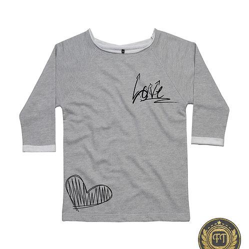 LOVE - Flash Dance Sweatshirt