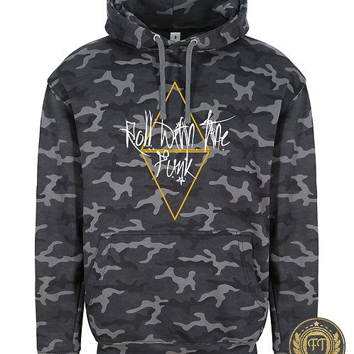 Roll with the funk - Camo Hoodie