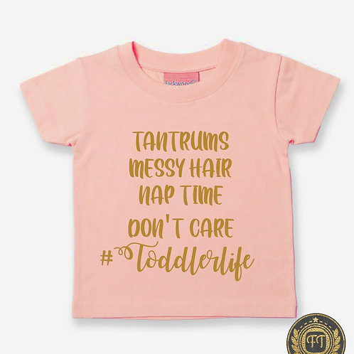 #Toddlerlife - Tri-Blend T-Shirt