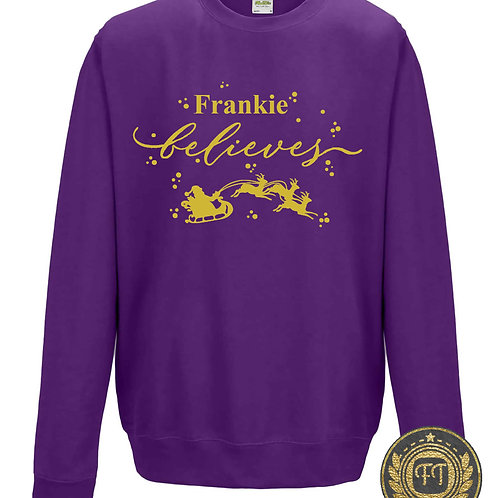 Believe - Child's Sweater