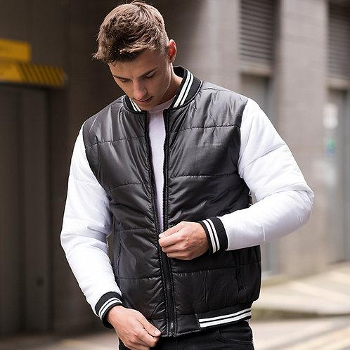 Men's Varsity Puffer Jacket