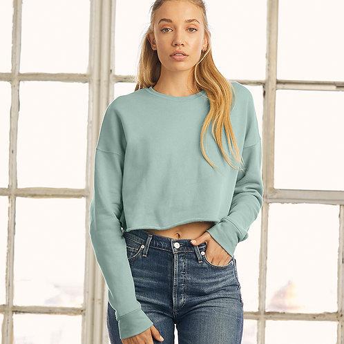 Ladies Cropped Sweatshirt