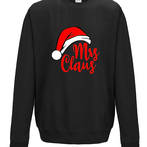 Mrs Claus - Ladies Couples Matching Sweater