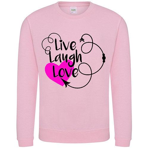 Live Love Laugh - Sweater