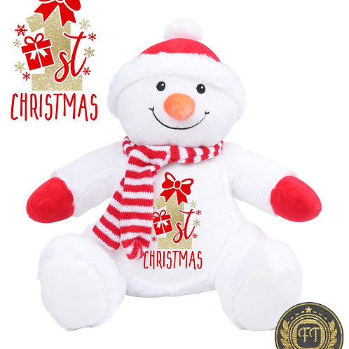 1st Christmas - Plush Reindeer Teddy