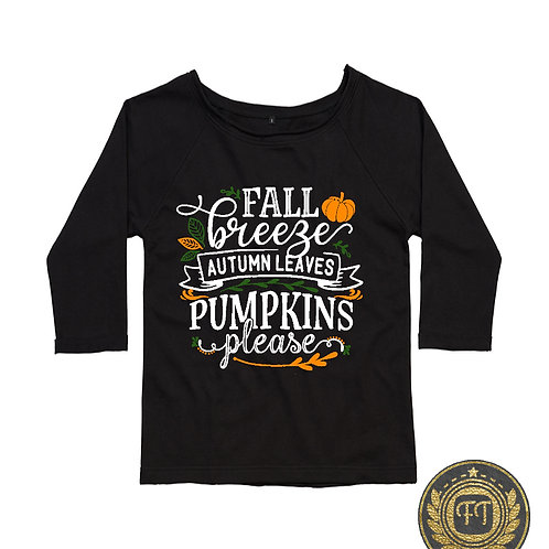 Fall Breeze - Flash Dance Sweatshirt