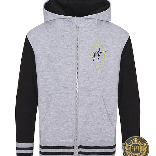 Roll with the funk - Urban Varsity Zoodie
