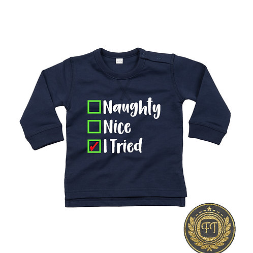 Naughty List - Toddler Sweater
