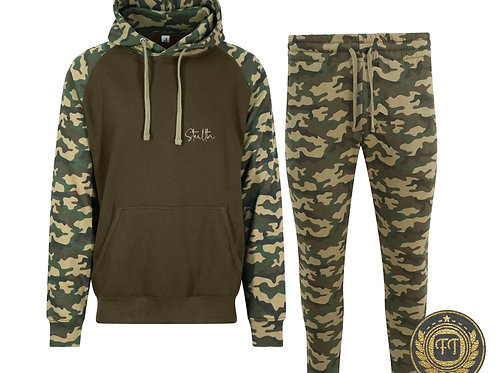 Stealth - Camouflage Tracksuit