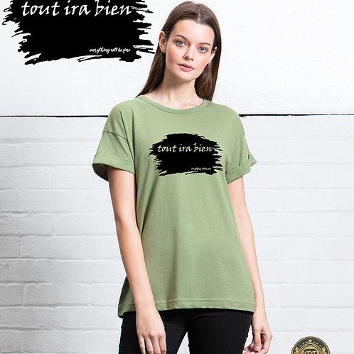 tout ira bien - Ladies The Boyfriend T-Shirt