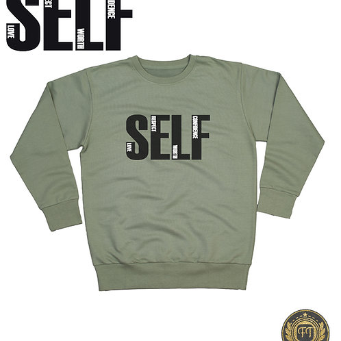 Ladies Self Love The Boyfriend Sweater