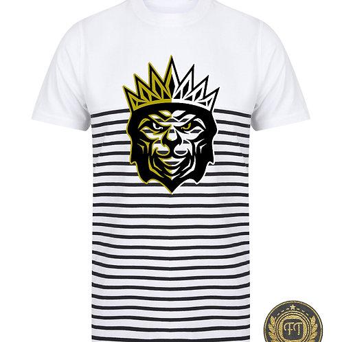 King of the Jungle - Breton Striped T-Shirt