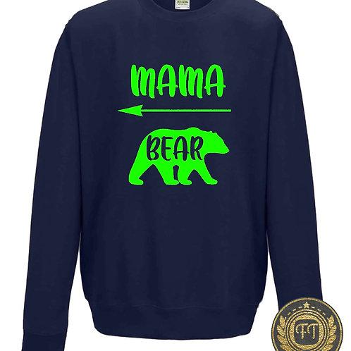 Mama Bear - Family Twinning Sweater